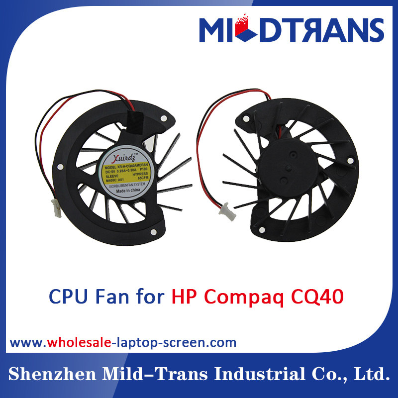 Wholesale laptop cpu cooling fans For HP Compaq CQ40 CQ45 DV4 CQ41 AMD