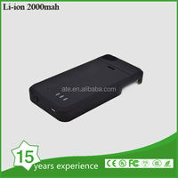 2000mah polymer lithium battery charger case for ip4/4s