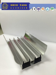 Anodized/mill finish/powder coating 6000 series T5/T6 aluminium Led profile and building materials