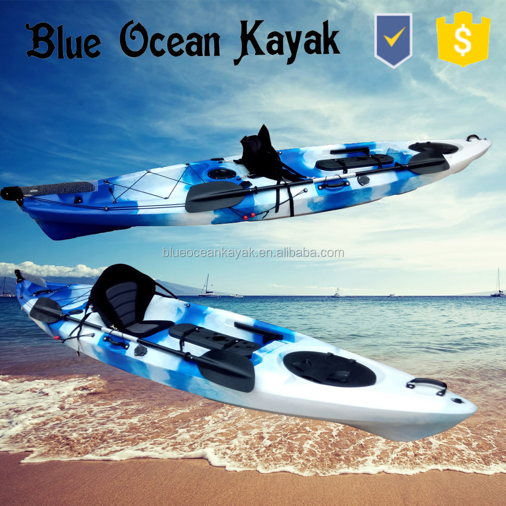 Blue Ocean 2015 hot sale new design foot pedal kayak/fishing foot pedal kayak/ocean foot pedal kayak