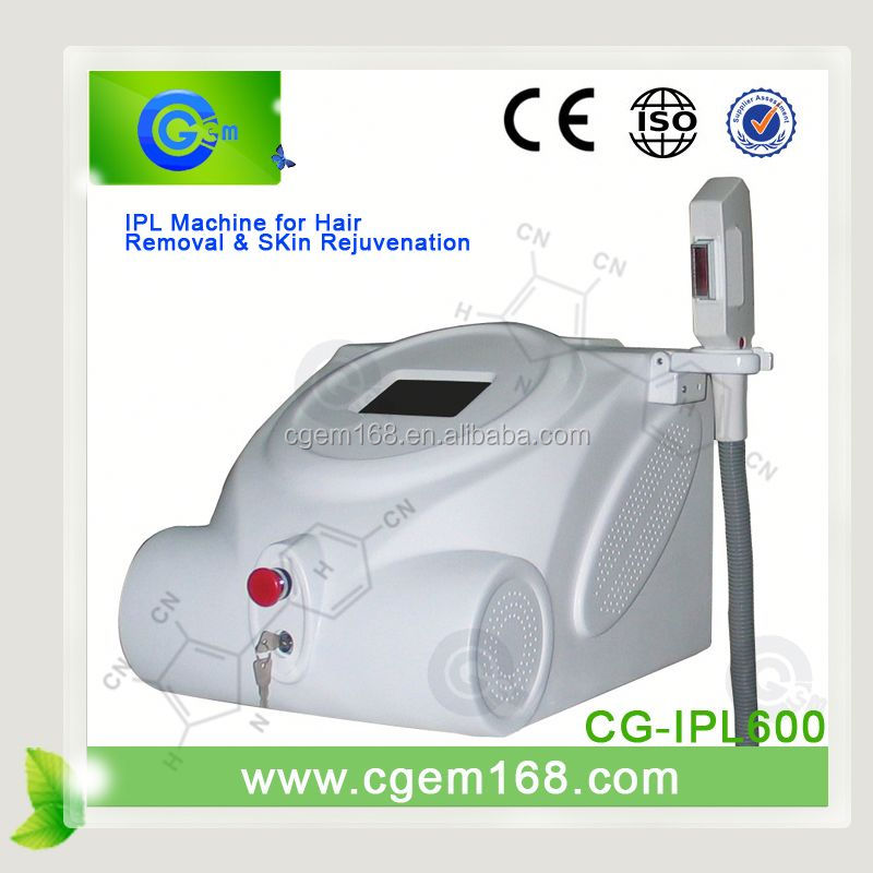 CG-IPL600 Welcome Sole Agent e light ipl machine for Skin Rejuvenation