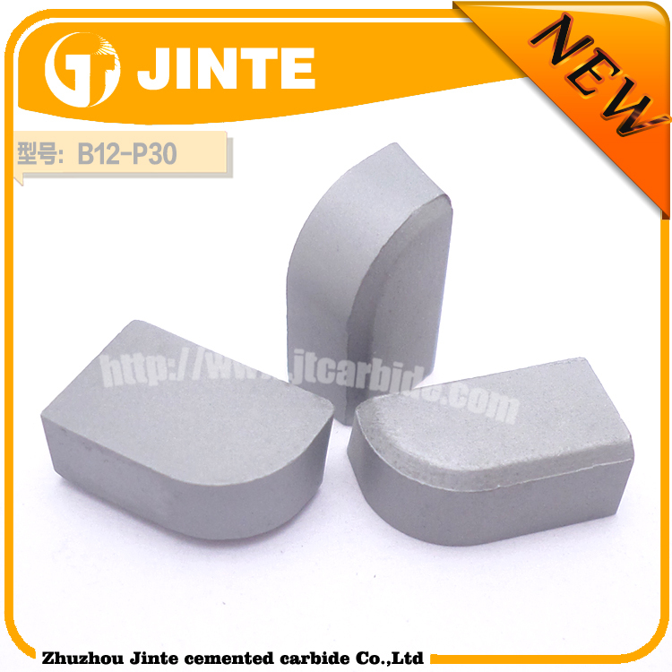 Cemented carbide welding tips/ cut metal cemented carbide welding insert in lathe