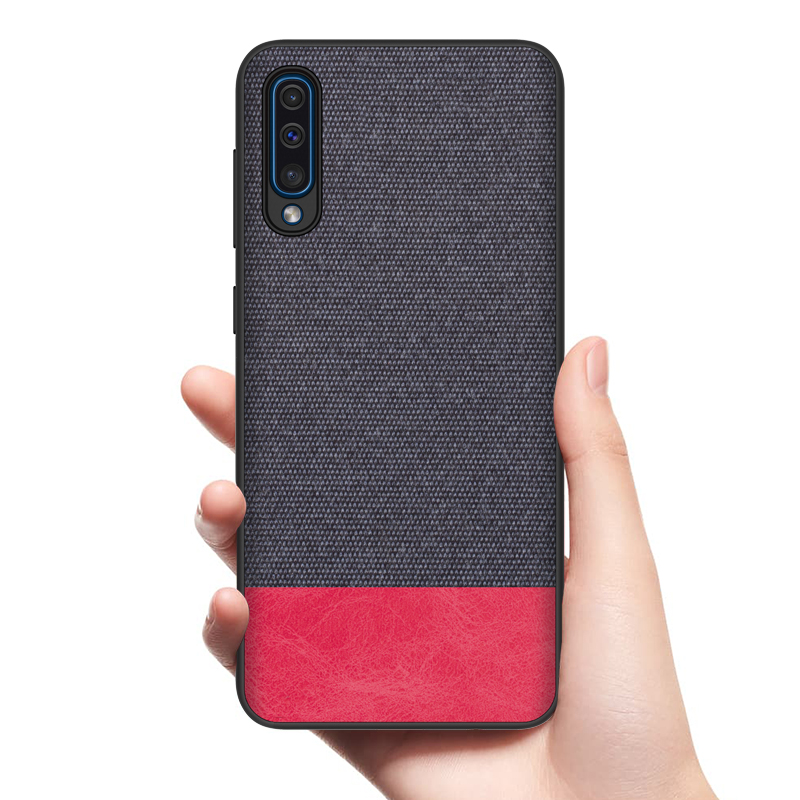 High Quality Mobile Phone Case Back Cover For Samsung galaxy A20E <strong>A10E</strong>/ A2 core A60 A70 fabric cloth Case cover shell