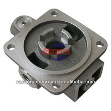 lost wax casting steel valve part