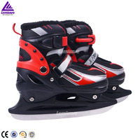 Wholesale 2015 newest high quality red ice skating shoes