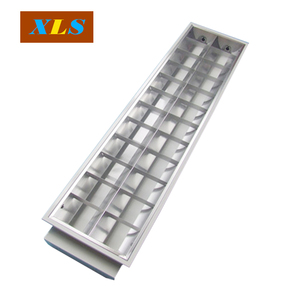 fluorescent lamp t8 36w industrial light fixture Grille Lamp lighting lamps