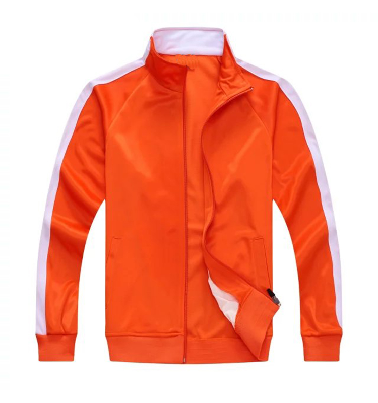 Long Sleeve Soccer Jacket With Promotion Price