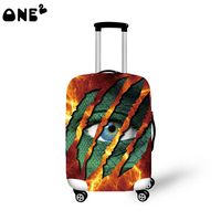 One2 design popular cool design cheap protective cover luggage suitcase girls lady women boys