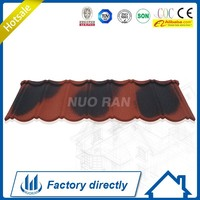 Nuoran blue color roof shingle tile/cheap price roof sheet/roof tile