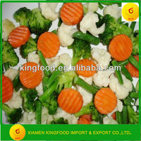 Stock Various IQF Mixed Vegetables with Halal
