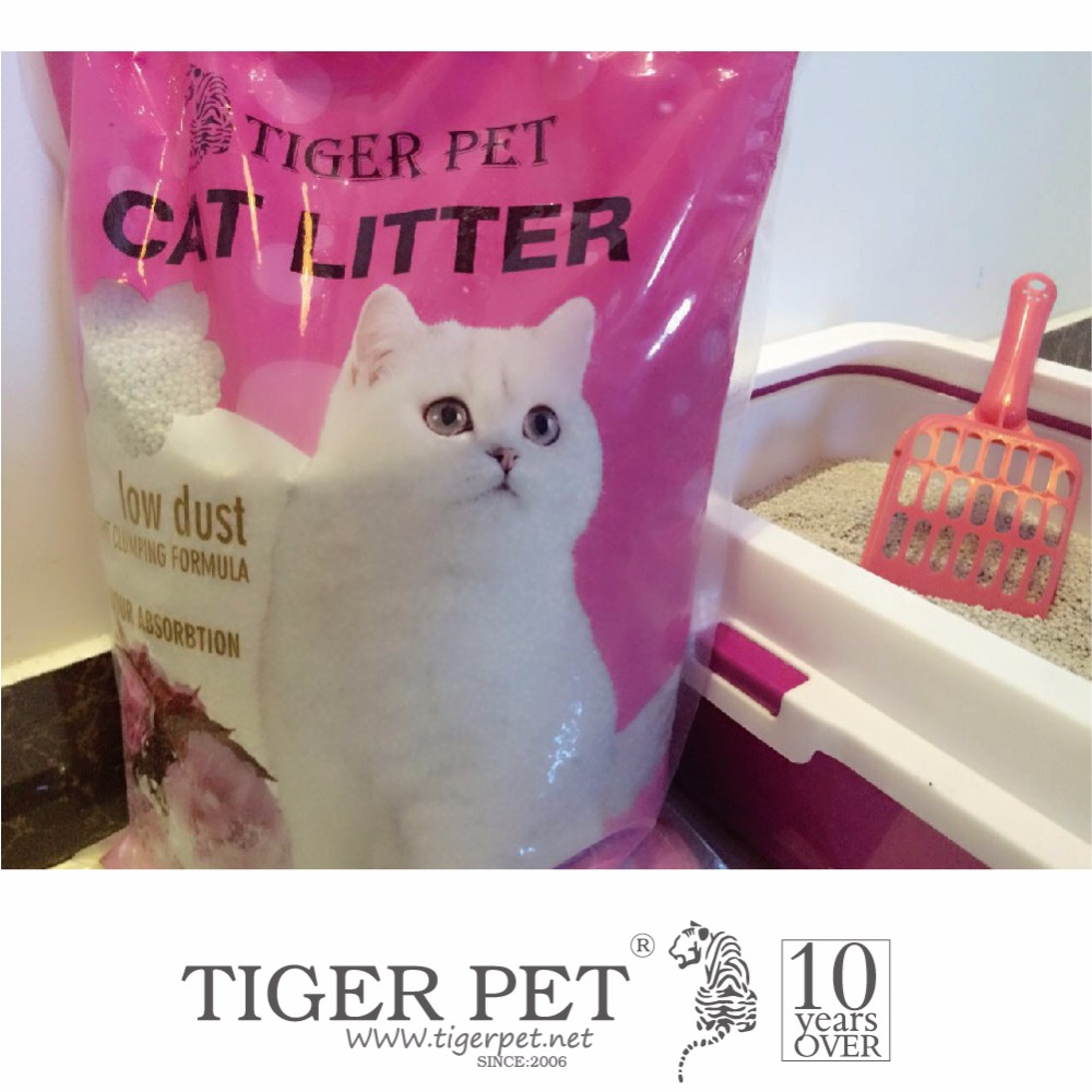 10L natural wild forest pine cat litter with strong pellet