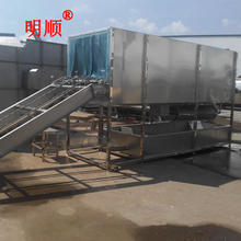 Tunnel-type dish washing machine/Poultry slaughter house line/Chicken cage washing machine