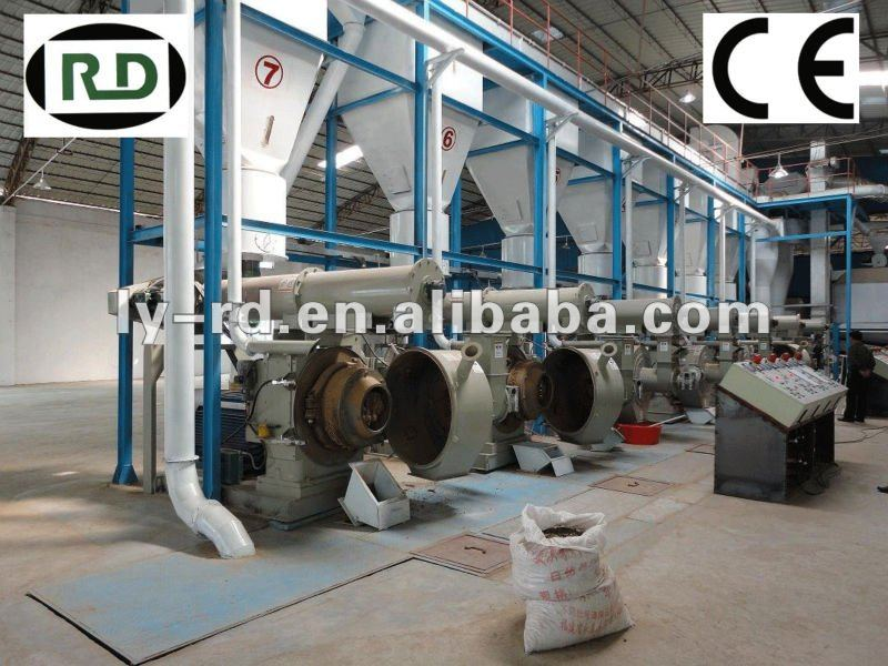 High quality ! CE approved complete wood and wastes pellet production line for biomass fuel pellets