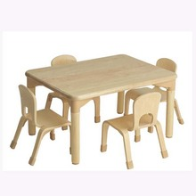 Wooden Table 4 Chairs furniture for kids/ children furniture set