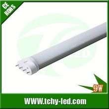 Popular 2g11 replacement 9w 2g11 g10q tubo led for showroom