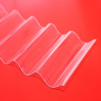 XINHAI polycarbonate resin, two wall pc hollow sheets-security plastic roofing material