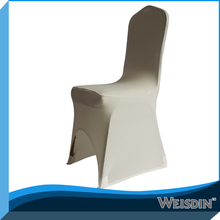 weisdin hotel chair cover/plastic dining chair covers/removable dining chair covers manufacturer