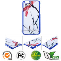 Custom printing heat transfer printing sticker case for iPhone 6