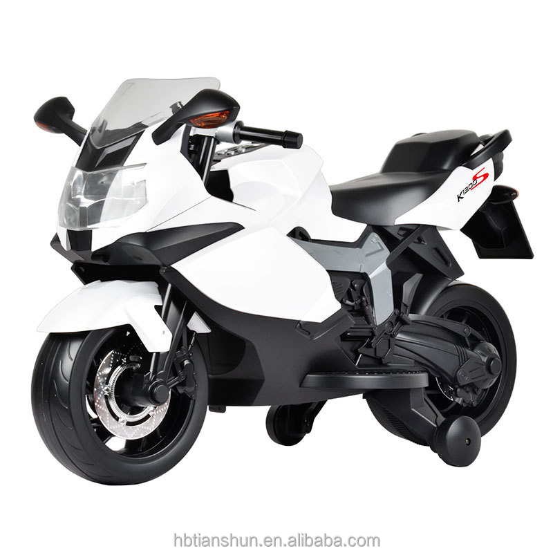 kids electric motorbike with big battery 6V7AH double pedal used for two kids