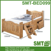 High Quality Solid Pine Cot Bed Wood Furniture
