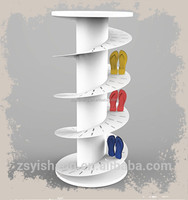 Flip Flop Rack Perfect Curve Holds Pairs Standing Flip Flop Display