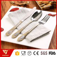Royal Stainless Steel Gold-plated Cutlery Set