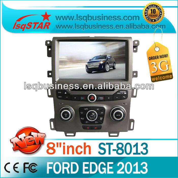 Wholesale 8inch in-dash Car Stereo system DVD player GPS Navigation for Ford Edge 2013