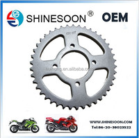 2015 Good quality motorcycle chain and sprocket with low price