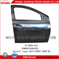 Hot selling metal front door for Renault Logan 2013 auto parts exporters