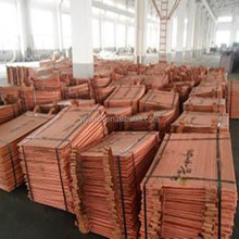 Electrolytic Copper Cathodes (Grade A) 99.99% pure copper cathode many specification