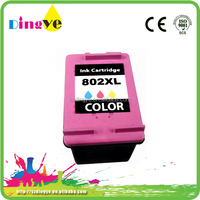 Consumer warehouse price ink cartridge for hp 802 for hp printer
