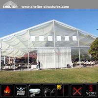 30m Clear Span Transparent Marquee Tents