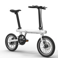 China Cheap Electric Bike Disk Brakes16inch Electric Folding Bicycle with Light