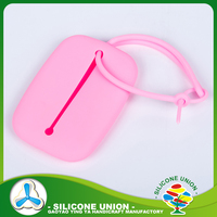 Hot selling silicone key purse/cute design silicone coin wallet /silicone car key case