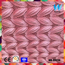 Wholesale lace fabric color lace fabric for home textile sofa and cushion pillowcase