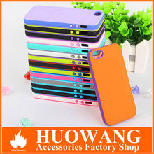 hot new product dual colors soft TPU phone case for iphone 5