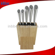 5pcs top handle stainless steel kitchen knife