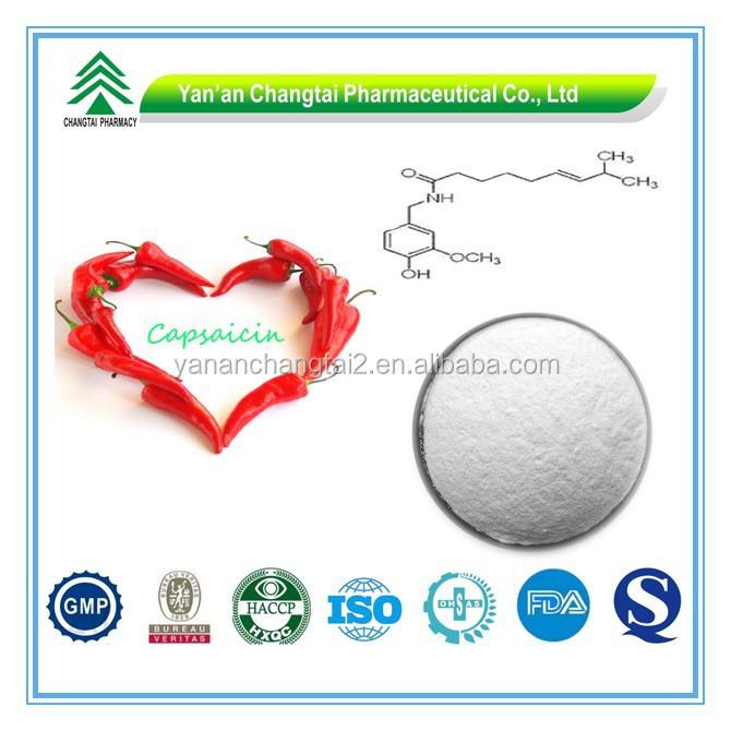 GMP Factory Supply Organic Capsaicin Powder in Bulk