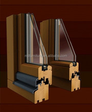 China Manufacture Soild Wood Casement Window