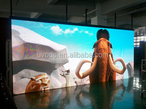 P4 Full color indoor wall-mounted LED display