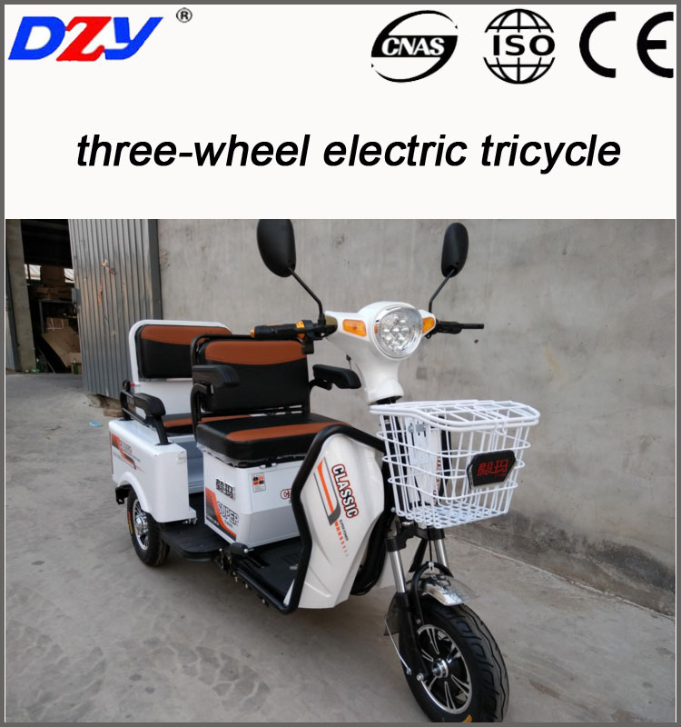 Chinese supplier high speed tricycle with wagon for adult