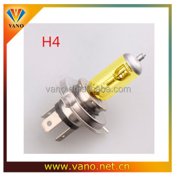 Auto Lamp Clear Blue Yellow 12V 24V Headlight H4 Super white Auto Halogen Bulb