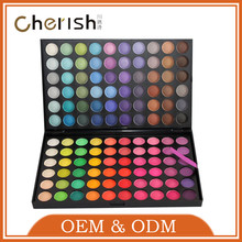 120-5 Shenzhen Cherish 100% Mineral Wholesale Makeup Wedding 120 Colors eye shadows