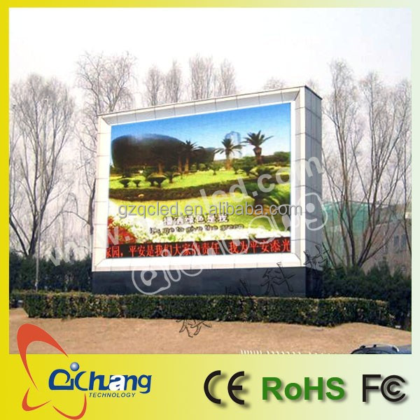 P10 Full color outdoor LED display screen/advertising display