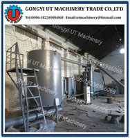 Fully Automatic Smokeless Continuous rice hull/biomass straw carbon making furnace for sale