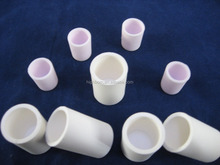 small capacity alumina ceramic crucible