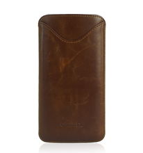 100% pu leather universal/ phone 7 sleeve/ leather cellphone case