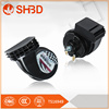 SHBD practical bicycle horn w/ 6-led warning lights (2 x aa) motorbike