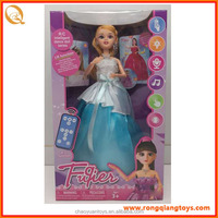 Brand new popular products radio remote controller dancing princess doll with high quality RC1445100-39