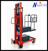 semi automatic forklift truck CE &ISO 300kg 0.3t mini order picker semi electric order picker cherry picker